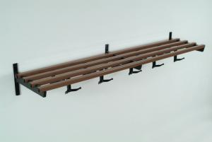 #33 Coat Rack - Bronze w/ 3 Brackets