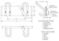 M10 Hook Panel
